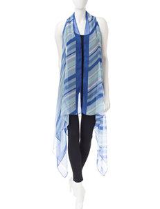 Kensie Blue Scarves & Wraps
