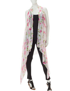 Kensie Pink Scarves & Wraps