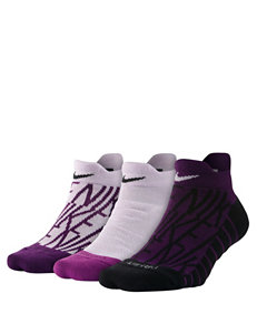 Nike Purple Socks