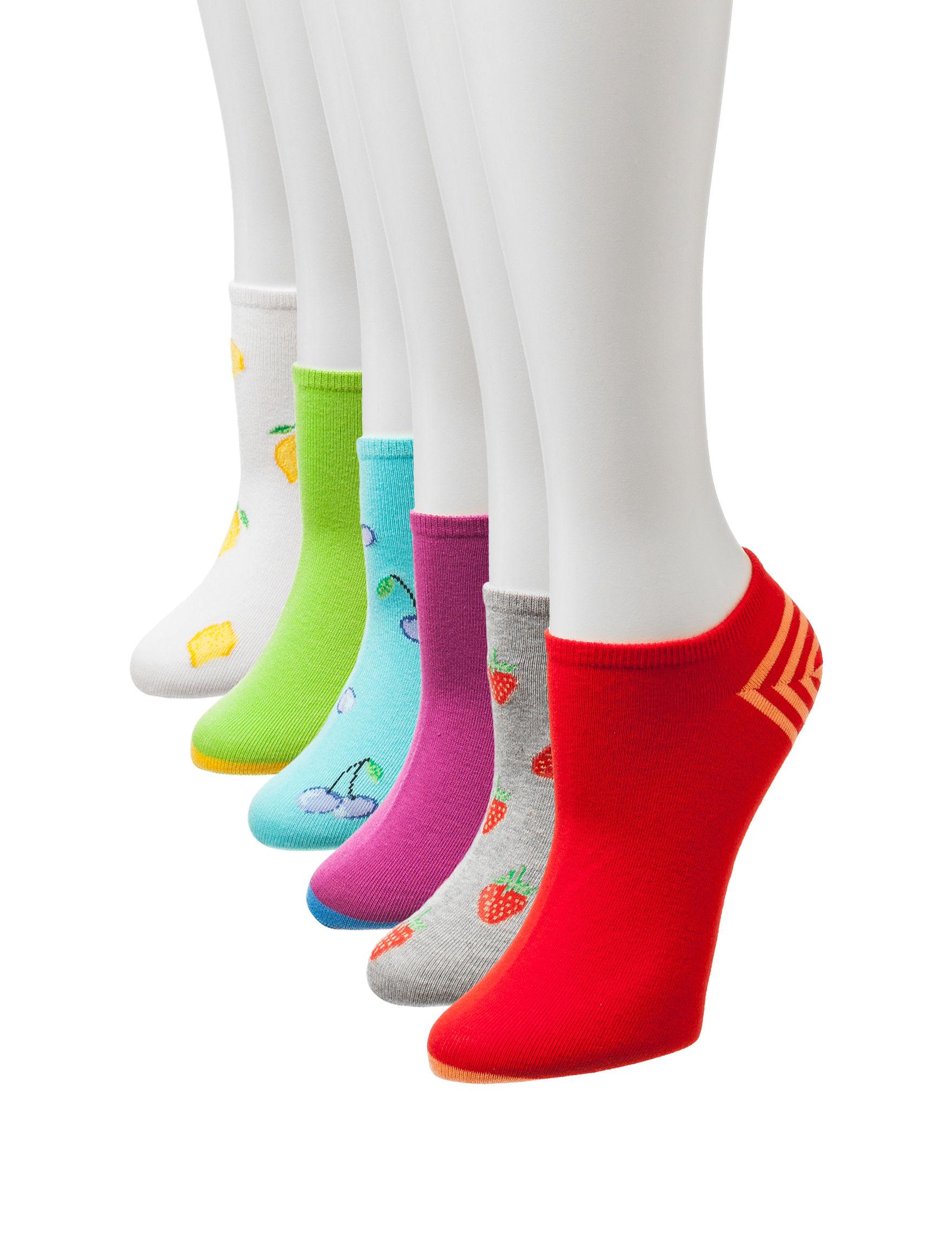 Hue Yellow Socks