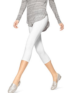 Hue White Leggings