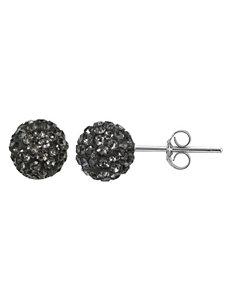 FMC Black Earrings Fine Jewelry