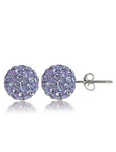 FMC Purple Earrings Fine Jewelry