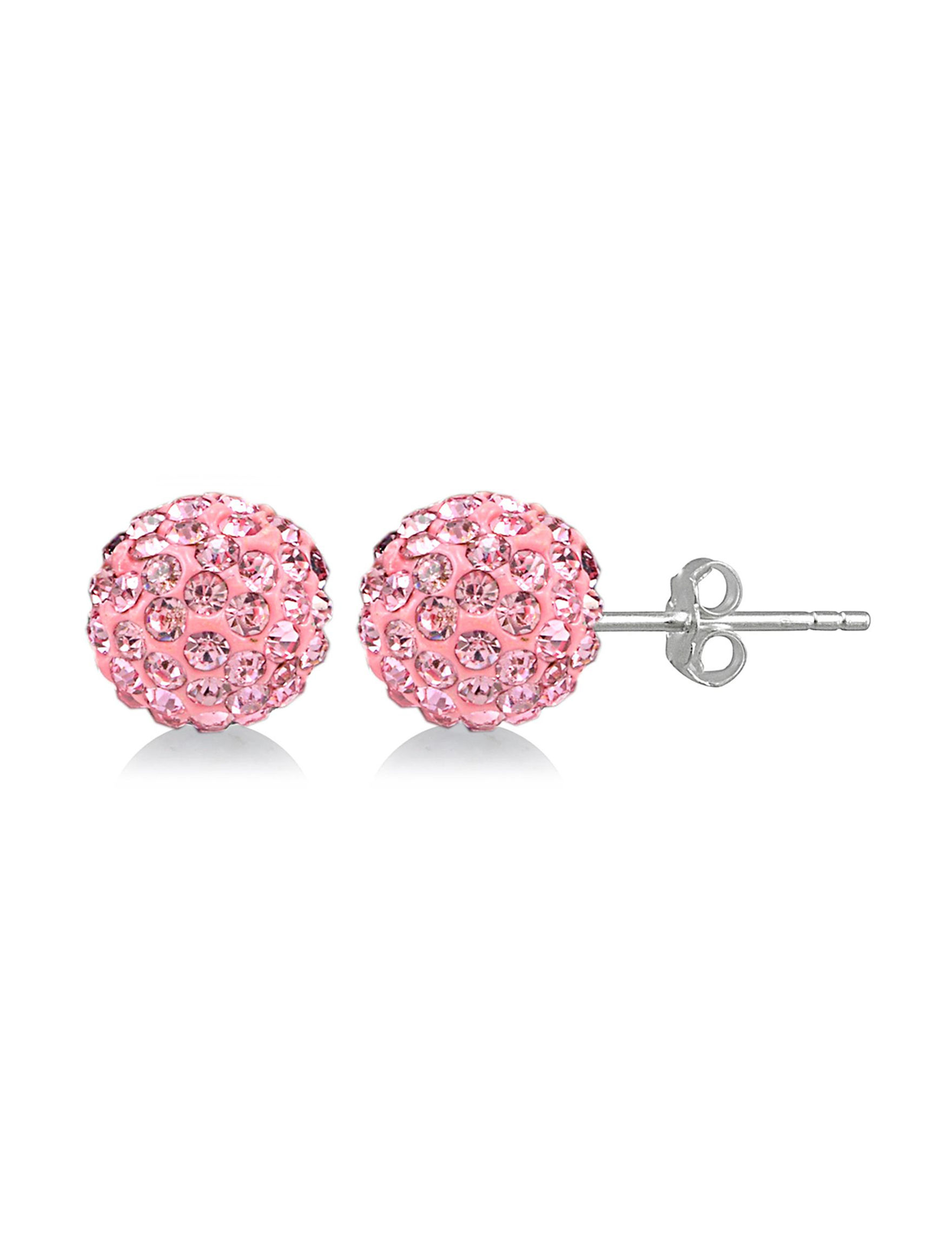 FMC Pink Earrings Fine Jewelry