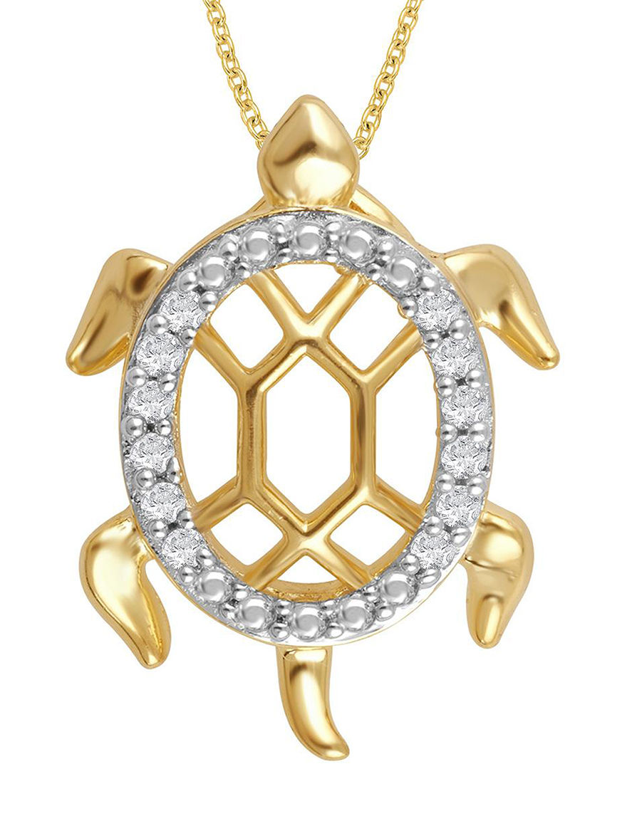 Yellow Necklaces & Pendants Fine Jewelry
