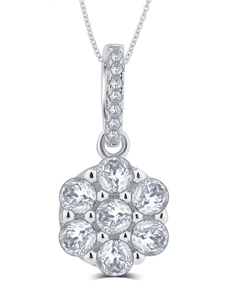 White Necklaces & Pendants Fine Jewelry