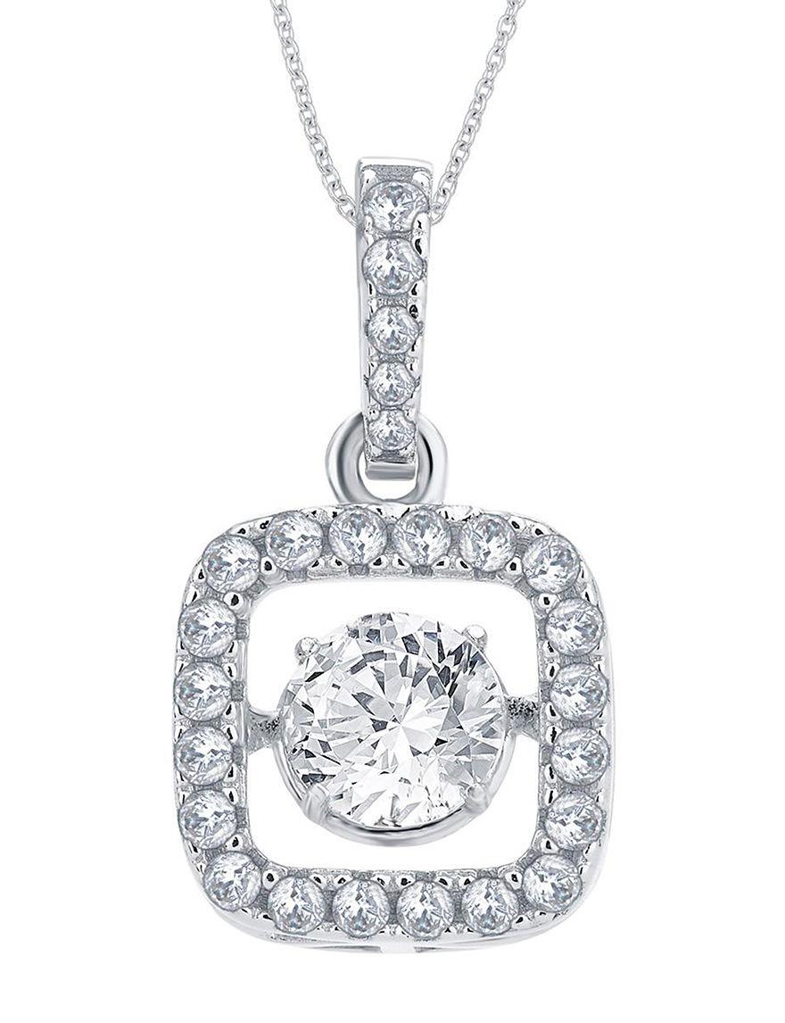White Necklaces & Pendants Fine Jewelry