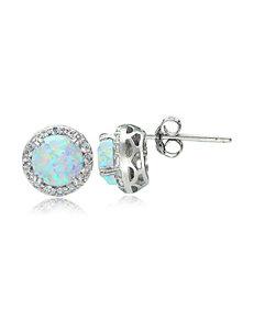 FMC White Earrings Fine Jewelry