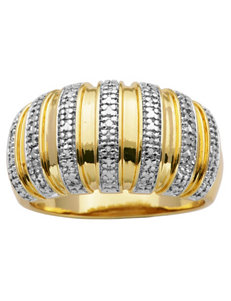 PAJ INC. 18K Gold-Plated Banded Ring