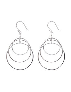 L & J White Earrings Fine Jewelry
