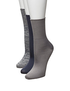 Hanes Blue Socks