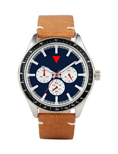 Global Time Brown Fashion Watches