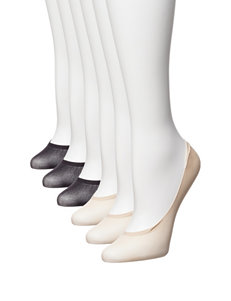 Hue White Socks