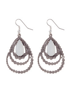 Hannah Crystal Drops Earrings Fashion Jewelry