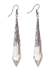 Hannah Orange Drops Earrings Fashion Jewelry