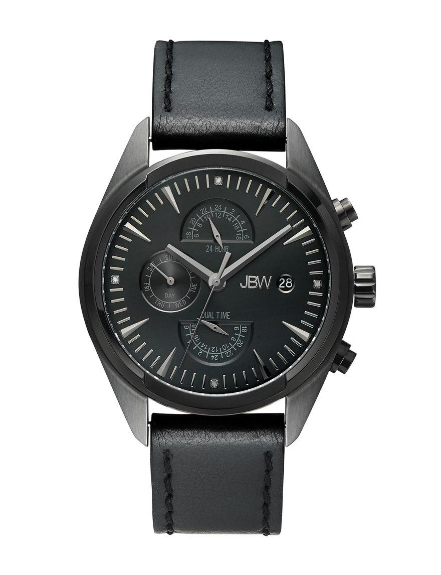 JBW Black Fashion Watches