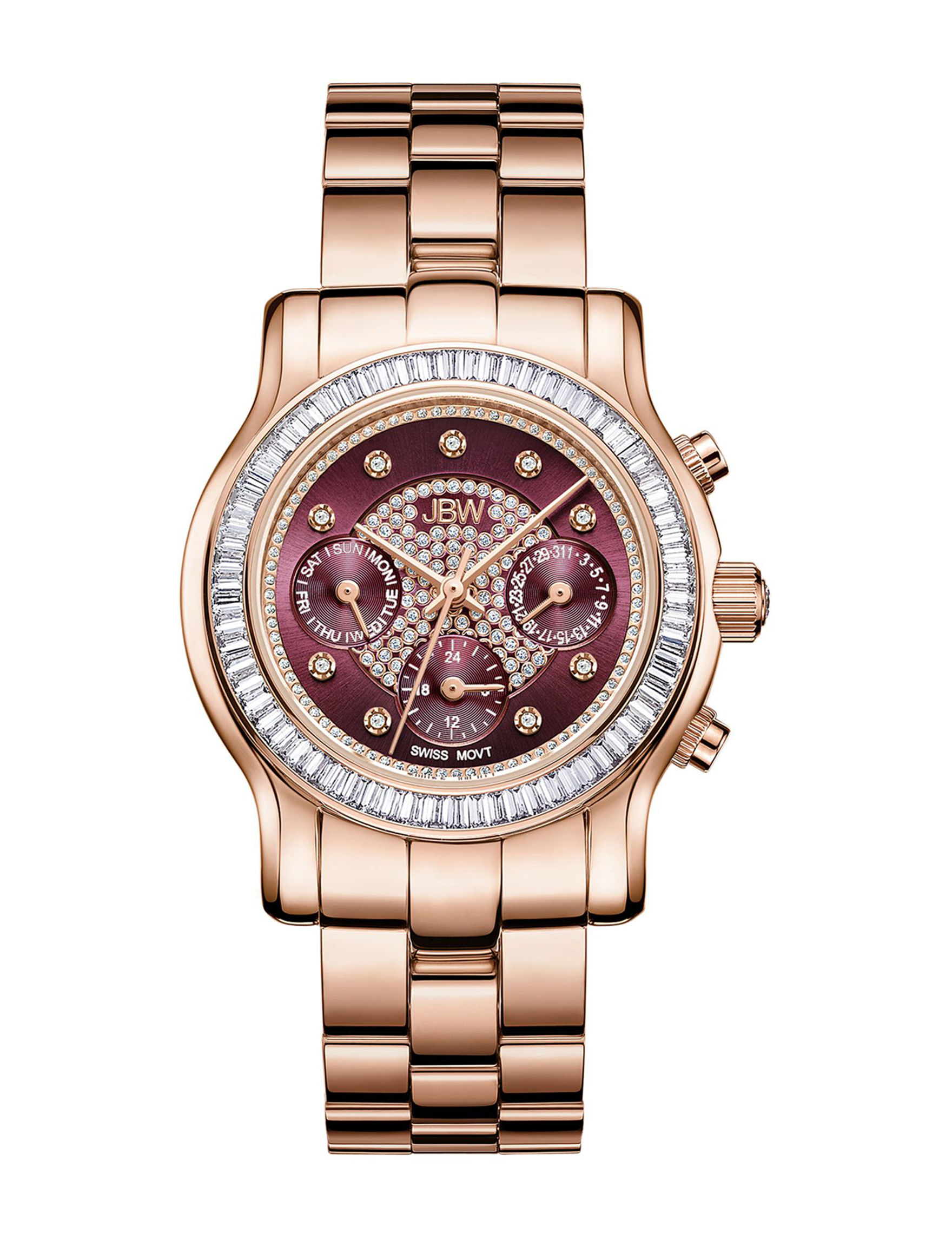JBW Rose Gold Fashion Watches