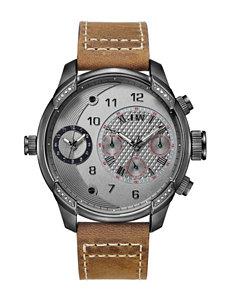JBW Gunmetal Fashion Watches