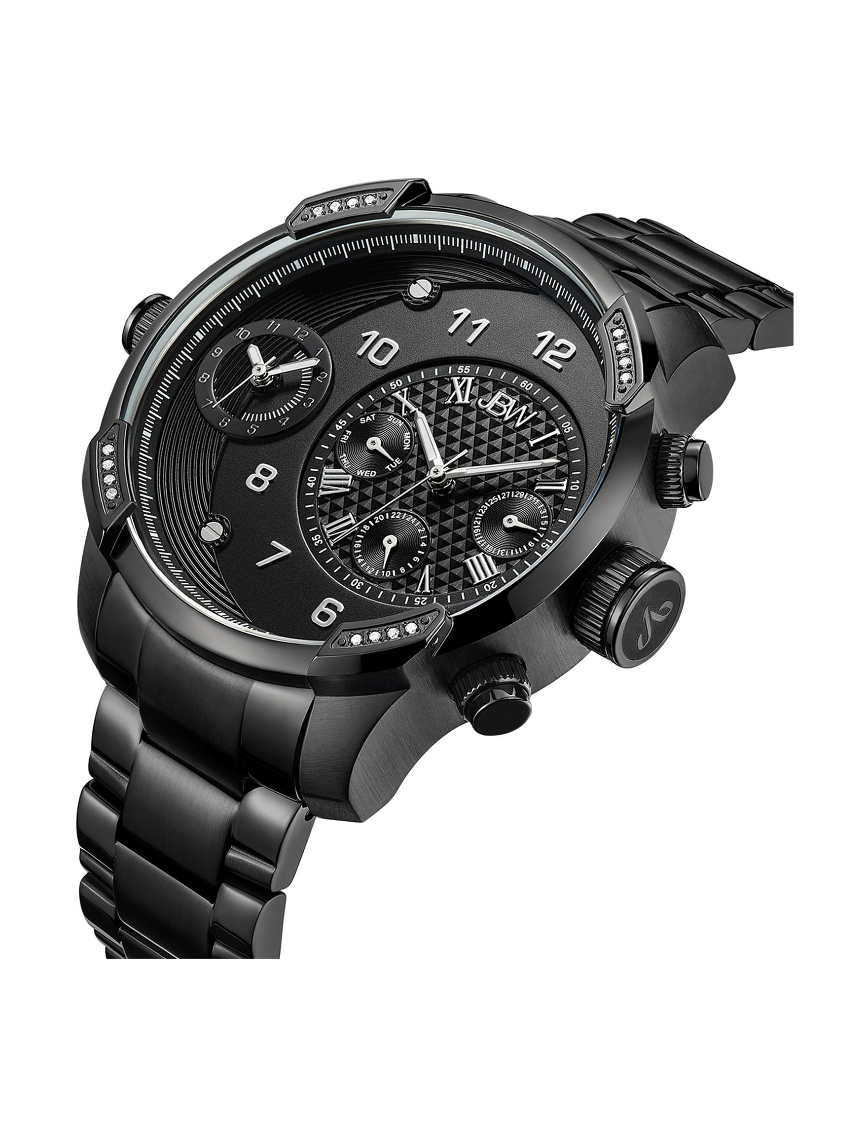 JBW Black Fashion Watches