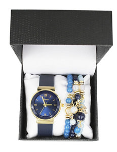 Global Time Navy Fashion Watches