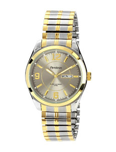 Armitron Stainless Steel Expansion Band Dress Watch