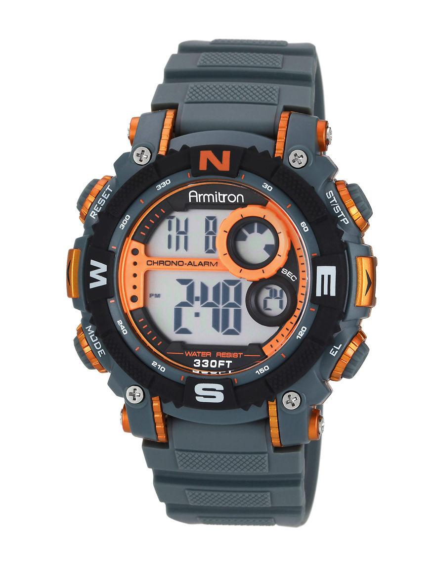 Armitron Grey Sport Watches