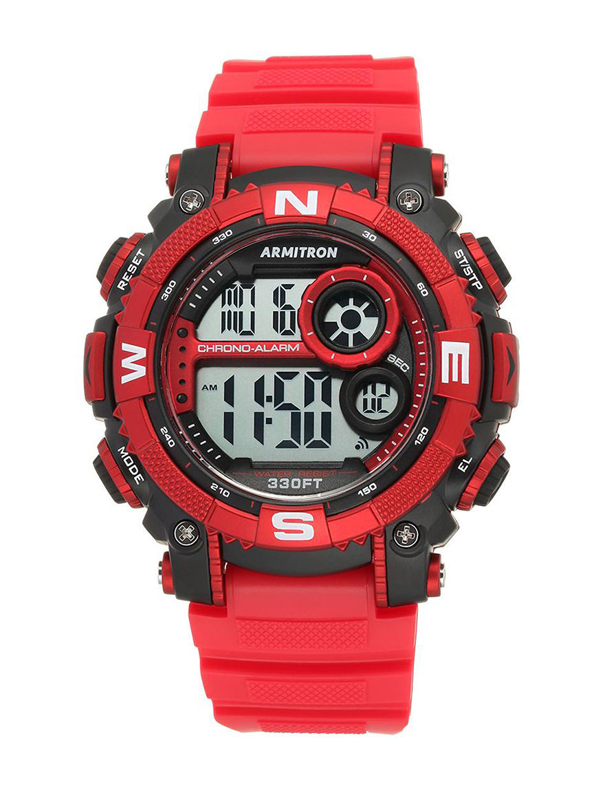 Armitron Red Fashion Watches