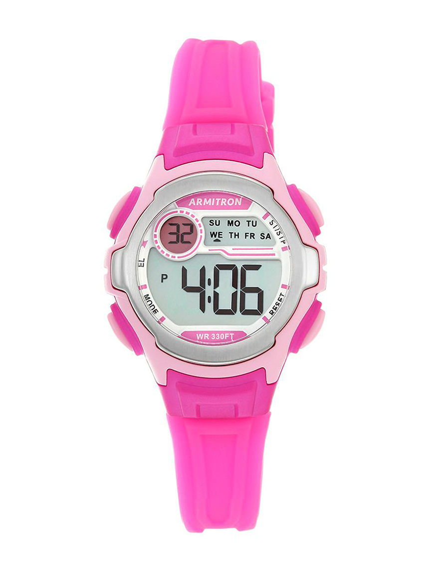 Armitron Pink Sport Watches