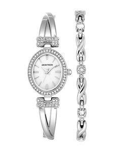 Armitron Silver Fashion Watches