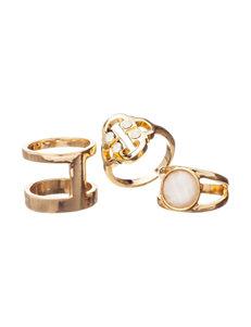 Hannah White Rings Fashion Jewelry