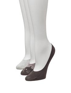 Signature Studio 3-pk. No-Show Liner Socks