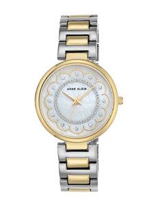 Anne Klein White / Silver Fashion Watches