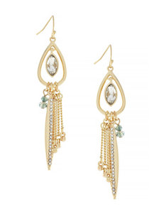 Jessica Simpson Gold Drops Earrings Fashion Jewelry