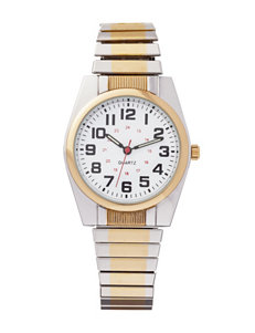 Accutime Two Tone Fashion Watches