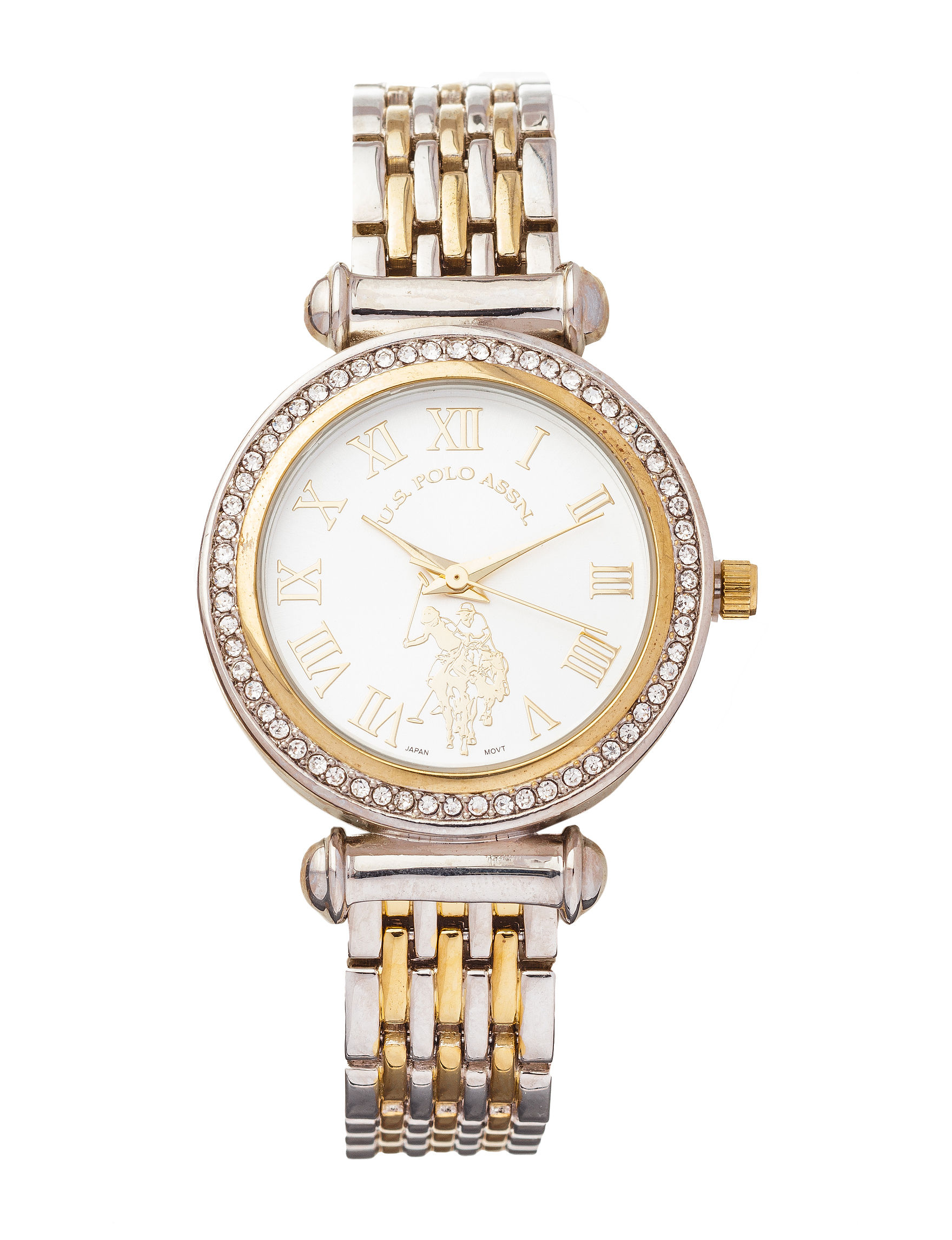 U.S. Polo Assn. Two Tone Fashion Watches