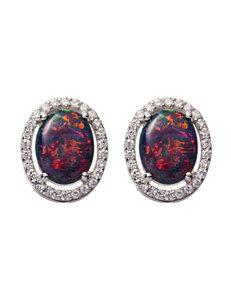 Kencraft White Earrings Fine Jewelry