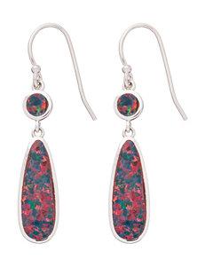 Kencraft Created Opal Drop Earrings