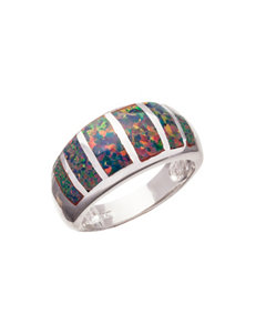 Kencraft Created Opal Dome Ring
