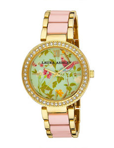 Laura Ashley Pink Fashion Watches
