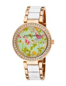 Laura Ashley White Fashion Watches