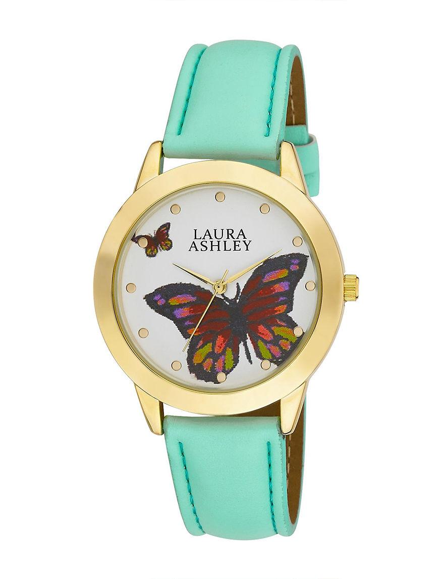 Laura Ashley Gold Fashion Watches