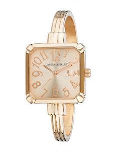 Laura Ashley Rose Gold Fashion Watches