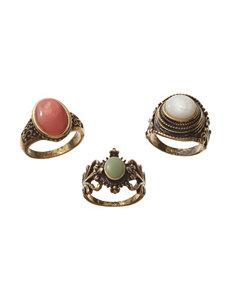 Hannah Multi Rings Fashion Jewelry