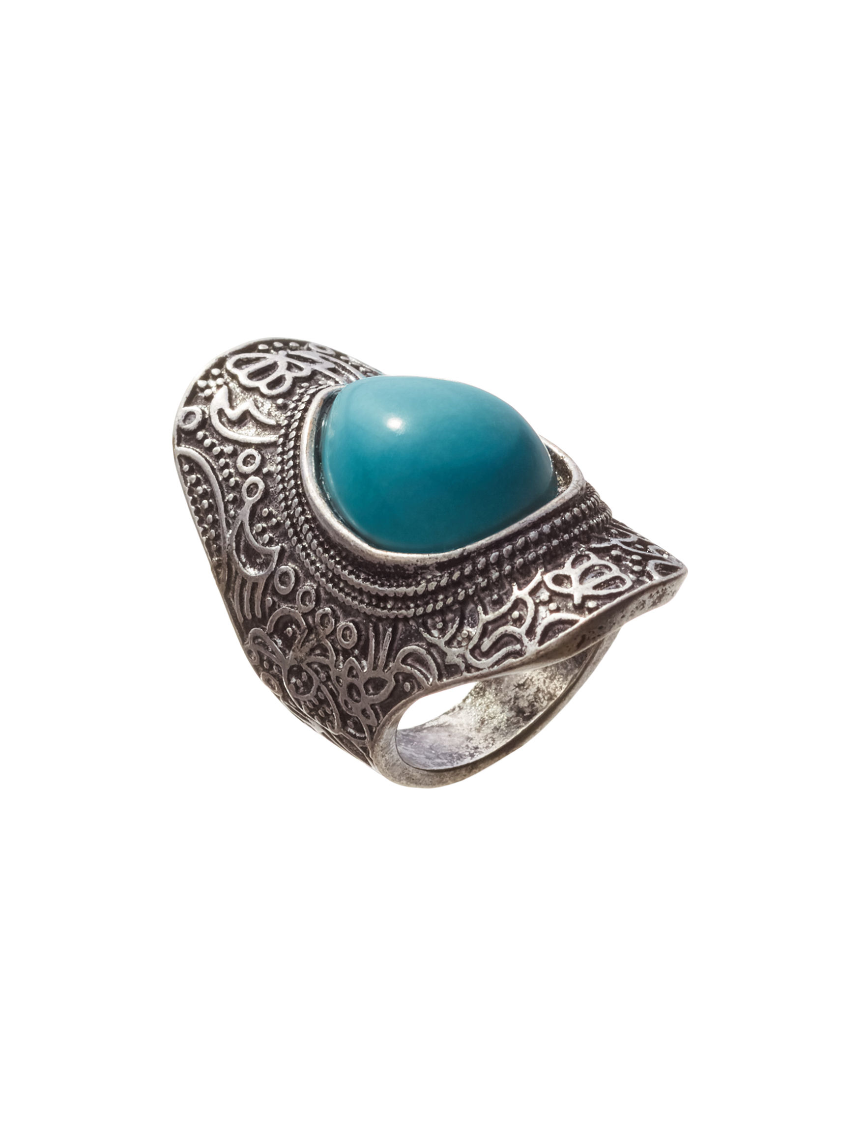 Hannah Turquoise Rings Fashion Jewelry