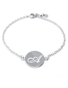 Athra Initial Bracelet