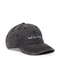 David & Young Black Hats & Headwear
