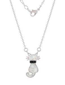 Athra Clear Necklaces & Pendants Fine Jewelry