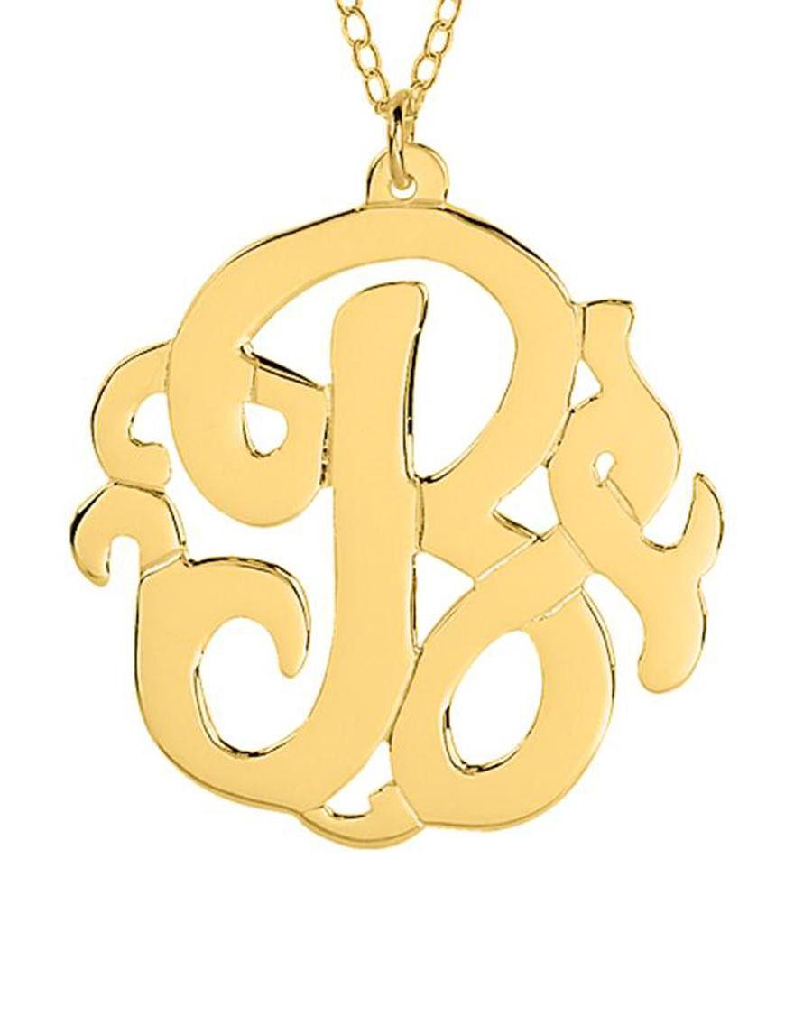 Jay Aimee  Monogram Necklaces & Pendants Fine Jewelry