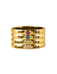 Jay Aimee Gold Rings Fine Jewelry