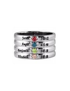 Jay Aimee Silver Rings Fine Jewelry